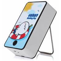 Портативный вентилятор USB в форме мультфильма Цветной