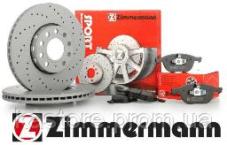 Тормозной диск передний MB W166 ML350, GLE400, X166 GL350CDI