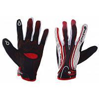NUCKILY PD06 велосипедные перчатки Красный