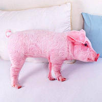 Творческая подушка с формой розовой свиньи декоративные подушки Розовый