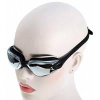 727c869a3bc3 Взрослые противотуманные очки для плавания серебристый и черный