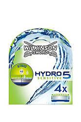Wilkinson Sword Hydro 5 - Станок + 4 сменных лезвия - Sensative Transformers Edition   Оригинал