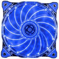 1STPLAYER Fire Ring 15 светодиодов Тихий вентилятор охлаждающей камеры Синий