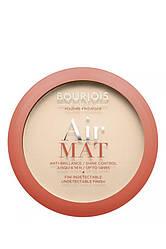 Bourjois Air Mat Pressed Powder Пудра компактна матова 01 Rose Ivory