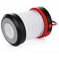 Солнечные светодиодный Кемпинговый фонарь с мобильного зарядного устройства Красный
