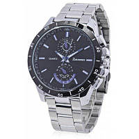 ZUEJANNES 8833G деловые часы наручные для мужчин Чёрный