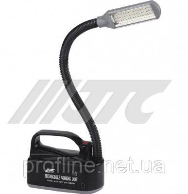 Лампа переносная аккумуляторная светодиодная  3106A JTC, фото 2