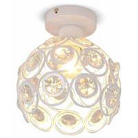 LightMyself YQ6623-1X E27 Белое кристаллическое потолочное освещение 220-240В 220V-240V