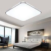 BRELONG персонализированный квадратный потолочный светильник светодиодный 180-240В Серебристый