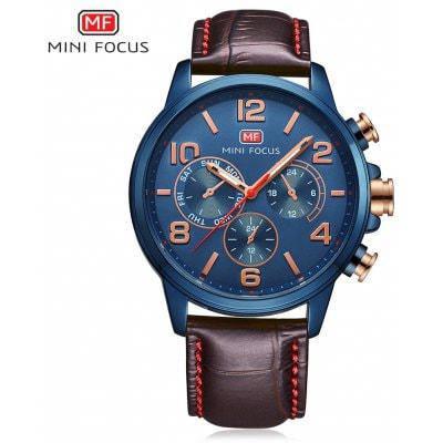 MINI FOCUS MF0001G мужские кварцевые часы - Синий, фото 2