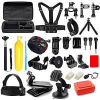 Универсальный комплект аксессуаров камеры для GoPro Чёрный