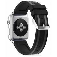 Силиконовый крепкий спортивный ремешок для Apple Watch AW-3252