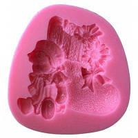 АК Силиконовая форма для выпечки Розовый