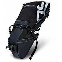 ROSWHEEL 131414 водостойкая 8Л велосипедная сумка для багажника Чёрный