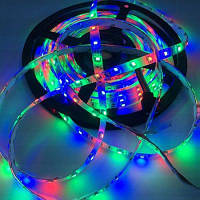 1шт гибкие 5050 светодоионые полосы света DC12V для табло бегущая строка Разноцветный