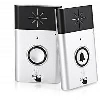 Н6 Беспроводной голосовой домофон дверной звонок установка домофона серебристый и черный