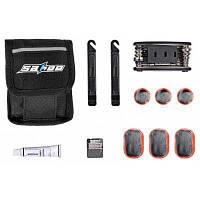 SAHOO 21042 набор инструментов для ремонта велосипеда с сумкой для хранения Чёрный