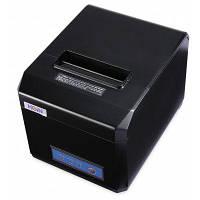 HOIN HOP-E801 USB / блютуз Водонепроницаемый термопринтер чека термальный чековый принтер Чёрный