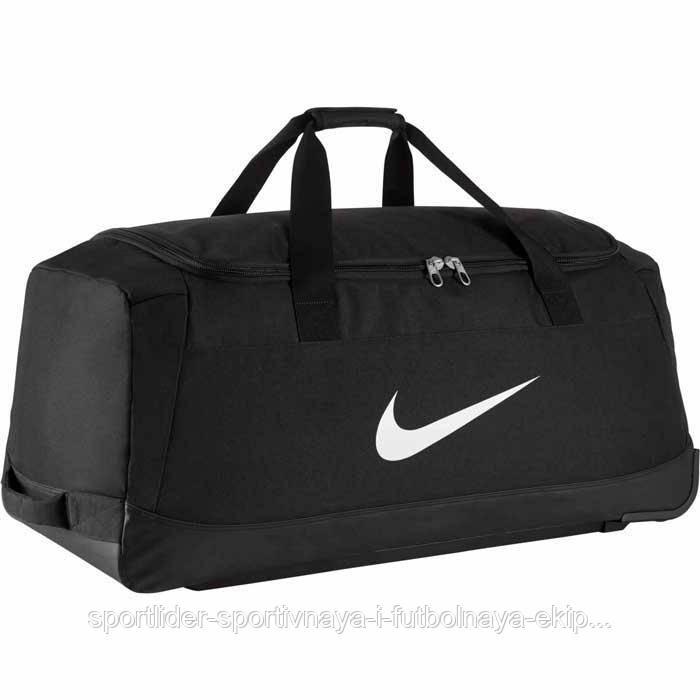 b1a147a7285f Сумка дорожная на колесах Nike Club Team Swoosh roller bag 3.0 BA5199-010 -  Sport