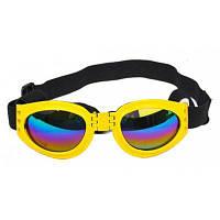 Складные солнечные очки для собаки Жёлтый