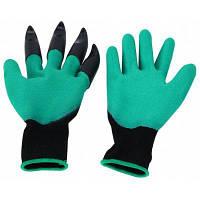 1 пара латексные садовые рабочие перчатки дизайн когтей Когти в левой руке