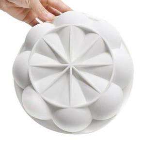 АК Силиконовая форма для выпечки хризантема 194 x 194 x 47мм, фото 2