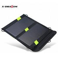 Х-дракон 5В 1.6 а 14 Вт панели солнечных батарей зарядное устройство складной мешок 5871
