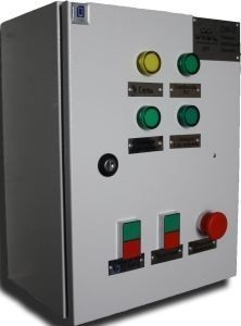 Станция управления насосами в системе автоматического полива