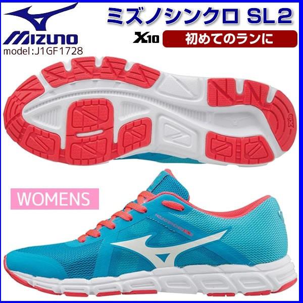 f234ba99 Беговые женские кроссовки Mizuno Wave Synchro SL2 (J1GF1728-02), Размер UK  7UK