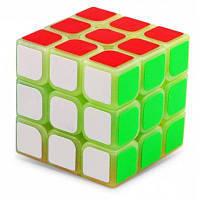 57мм светящиеся ABS головоломки игрушки магический куб 3 х 3 х 3 для игры для детей 27822