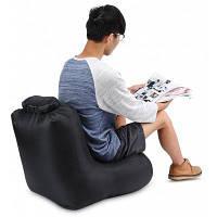 CTSmart DL1620 портативное надувное кресло диван с нагрузкой 150кг Чёрный