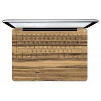 Дерево стикер клавиатуры зерна Pictuce для MacBook PM-1949