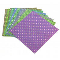 Deli 6433 10шт многоцветные красочные оригами бумаги Цветной