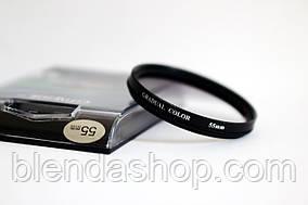 Градієнтний світлофільтр CITIWIDE 55 мм - сірий (grey)