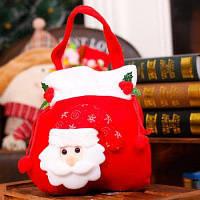 Рождественский милый подарочный мешок для деией Дед Мороз
