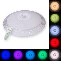 Youoklight 1шт 24ВТ 220В пульт дистанционного управления Multi-Цвет затемнения светодиодный Потолочный светильник мульти