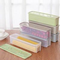 Контейнер для продуктов питания в холодильник 1.5л Цветной