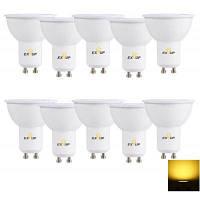 Светодиодный прожектор EXUP GU10 7ВT 560лм 10шт Тёпло-белый