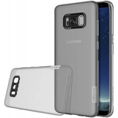 NILLKIN прозрачный мягкий чехол для Samsung Galaxy S8 - Серый, фото 2