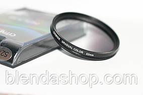 Градиентный светофильтр CITIWIDE 62 мм - серый (grey)