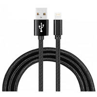 ЖЛ-MX04 3м передачи данных зарядный Кабель USB для iPhone 7 Чёрный