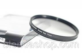Градієнтний світлофільтр CITIWIDE 77 мм - сірий (grey)