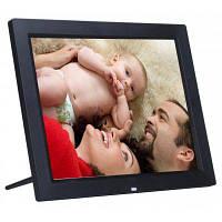 15 дюймов с LED подсветкой и HD разрешением 1024 x 768 цифровая фоторамка электронный альбом МР3 МР4