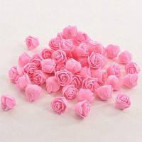 Искусственные розы декор Цвет папайи