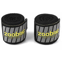 Zooboo пара бинтов для бокса повязки для санды 3.05 м Чёрный