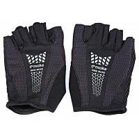 MOKE пара дышащих ударопрочных перчаток без пальцев для велоспорта L