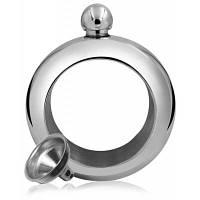 Фляга-браслет для ликера Серебристый