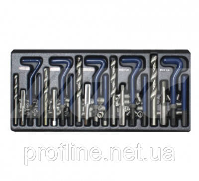 Набір для відновлення різьби комбінований (5 розмірів) JTC 4792 JTC