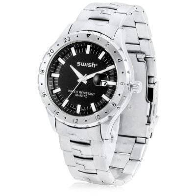 СВИШ 5797 кварцевые мужские часы Серебристый, фото 2