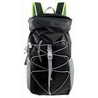 Рюкзак для спорта на открытом воздухе езды альпинизма Чёрный
